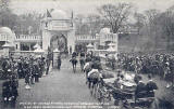 Durie Brown Postcard  -  Scottish National Exhibition, 1908, at Saughton Park