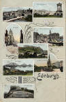 Hartmann Postcard  -  Miniature Series  -  Edinburgh