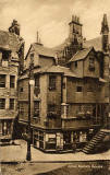 John Knox House in the Royal Mile, Edinburgh  -  Postcard  -  W J Hay