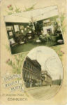 Postcard by Alex A Inglis  -  Darling's Regent Hotel, Waterloo Place, Edinurburgh