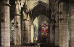 Postcard by Alex A Inglis  -  The interior of St Giles Cathedral, looking east