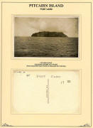 Jerome Postcard of Pitcairn Island
