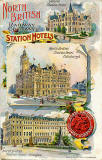 Postcard by W & A K Johnson  -  North British Railway Company Hotels