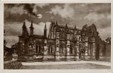 "J S & S, Edinburgh  - "" St Giles"" series postcards  -  Rosslyn Chapel"