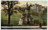 J S & S, Edinburgh  -   Royal Scots Greys Statue in West Princes Street Gardens
