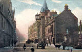 'National Series' postcard  -  Canongate Tolbooth