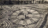 Pelham Postcard  -  Floral Clock in Princes Street Gardens, Edinburgh  -  Which year?