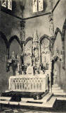 Postcard publlished by PTA  -  The High ALtar, St Margaret's Convent, Edinburgh