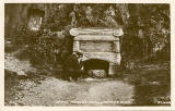Postcard  -  Jamie Wright's Well, Campsie Glen, Scotland
