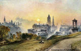 "Raphael Tuck ""Oilette"" postcard  -  Edinburgh from Calton Hill"