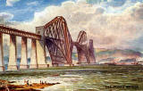 "Raphael Tuck ""Oilette"" postcard  -  The Forth Bridge"