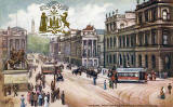 "Raphael Tuck ""Oilette"" postcard  -  The GPO and Waterloo Place"