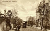 "Raphael Tuck ""Sepia"" postcard  -  Morningside Road"