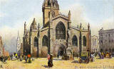 "Raphael Tuck Art"" postcard  -  St Gile's Church"