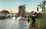 Valentine Postcard of the Water Chute at the Scottish National Exhibition, Edinburgh 1908