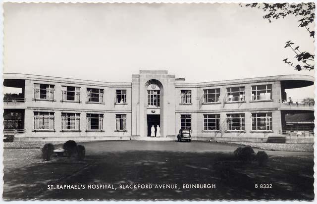 Postcard By Valentine 1953 St Raphaels Hospital