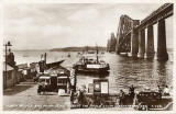 Valentine's Postcard  -  The Forth Bridge and Ferry Boat  -  1934