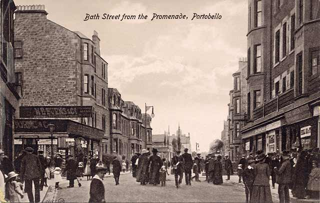Post Card  -  Portobello Bath Street  -  Valentine