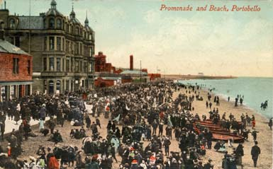Post Card - Portobello Beach - James Valentine