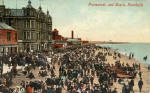 Post Card  -  Portobello Beach  -  by Valentine - coloured