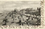Portobello Beach and Promenade  -  A Valentine Postcard, posted 1903