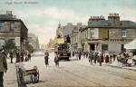 High Street, Portobello - Valentine Postcard, 1901 photograph