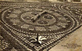 Postcard by Valentine  -  Floral Clock in Princes Street Gardens  -  1903
