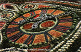 Floral Clock in Princes Street Gardens  -  1918