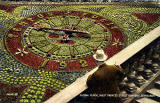 Postcard by Valentine -  Floral Clock in Princes Street Gardens  -  1927