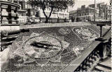 Valentine Postcard  -  Floral Clock in Princes Street Gardens, Edinburgh  -  1960