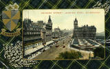 Valentine Postcard  -  Tartan Border  -  Campbell  -  Princes Street, East End