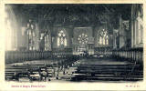 Postcard by Marshall Wane & Co   -  Fettes College  -  The Chapel
