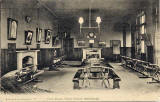 Postcard by an Marshall Wane & Co   -  Fettes College  -  The Form Room