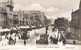 Marshall Wane & Co postcard  -  North British Railway Series  -  Princes Street from the Rutland Hotel