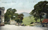 W R & S Postcard  -  Duddingston Church Gateway