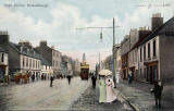 WR&S Postcard  -  Musselburgh High Street  -  Card posted 1905