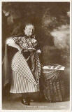 Postcard published by John R Russel of Edinburgh (JRRE)  -  Newhaven Fishwife