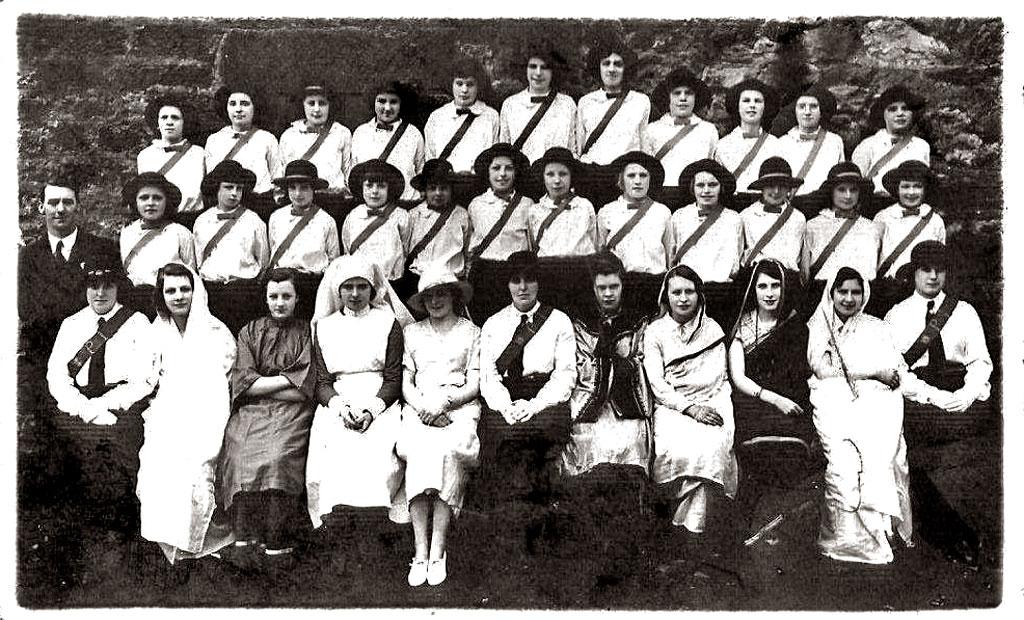 granton girls School: christopherson – girls organize sewing club (nov 1939)  school: granton area, cunningham school: school: granton area, kurth school.