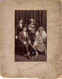 Postcard Portrait of a Wedding taken by Morrison's Studio