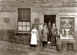 Thomas Cullen's Shop at 37 Arthur Street, around 1920