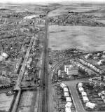 Aerial View of Carrick Knowe Golf Course, Jenners Depository and Baird Drive, 1951