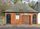 Colinton Road  -  Toilet Block, formerly tram ticket office at Colinton Terminus
