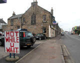 Looknig NW down Drum Street towards the centre of Gilmerton - 2011  -  Gardener's Arms