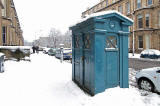 Drumsheugh Gardens  -  Police Box  -  November 2010