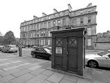Drumsheugh Gardens  -  Police Box for sale  -  May 2012