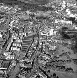 Looking down on Leith  -  Duke Street in the centre of the picture  -  Photo taken when?