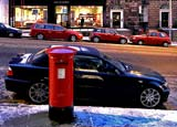 Dundas Street, Pillar Box - November 2010