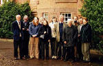 Members of the Scottish Society for the History of Photography on a visit to Hospitalfield House  -  13 December 2003