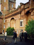 Hospitalfield House, Arbroath.  Visit by members of the Scottish Society for the History of Photography  -  13 December 2003