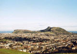 View from Blackford Hill towards Arthur Seat